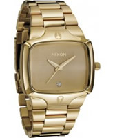 Buy Nixon Mens The Player All Gold Watch online
