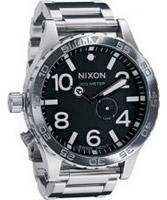 Buy Nixon The 51-30 Tide Black Steel Watch online