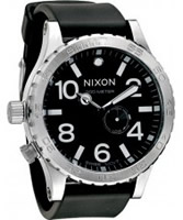 Buy Nixon The 51-30 PU Strap All Black Watch online