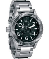 Buy Nixon The 42-20 Chrono Black Watch online