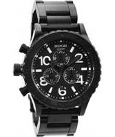Buy Nixon The 42-20 Chrono Black Watch online