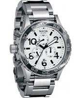 Buy Nixon The 42-20 Chrono Steel Watch online