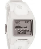 Buy Nixon The Lodown White Digital Watch online
