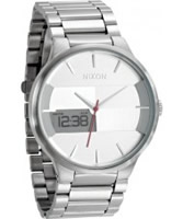 Buy Nixon Mens The Spencer Silver Watch online