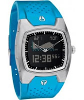 Buy Nixon The Super Hero II TI-PU Sky Blue Black Watch online