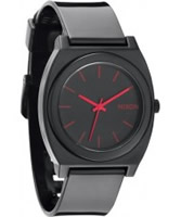 Buy Nixon The Time Teller P Black Bright Pink Watch online