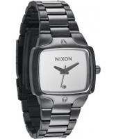 Buy Nixon Ladies The Small Player Gunmetal Watch online