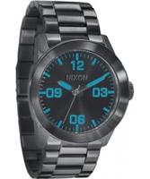 Buy Nixon The Private Gunmetal Watch online