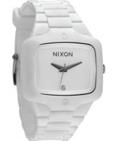 Buy Nixon The Rubber Player White Diamond Watch online