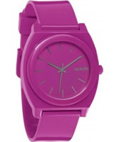 Buy Nixon The Time Teller P Shocking Pink Watch online