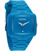 Buy Nixon The Rubber Player Blue X Diamond Watch online