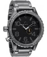 Buy Nixon The 51-30 Tide Black Grey Watch online