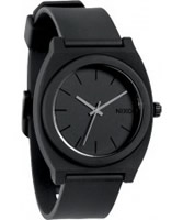 Buy Nixon The Time Teller Matte Black Watch online