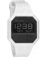 Buy Nixon The Rubber Re-Run White Black Watch online