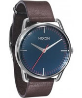 Buy Nixon The Mellor Navy Brown Watch online