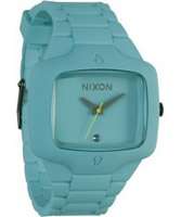 Buy Nixon The Rubber Player Seafoam Diamond Watch online