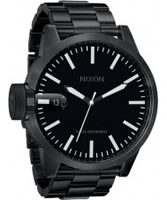 Buy Nixon The Chronicle SS All Black Watch online