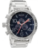 Buy Nixon Mens The 51-30 Chrono Navy Watch online