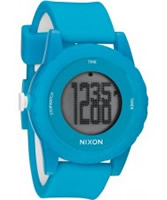 Buy Nixon The Genie Sky Blue Digital Watch online
