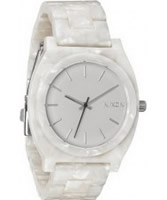 Buy Nixon The Time Teller Acetate White Granite Watch online