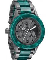 Buy Nixon The 42-20 Chrono Emerald Acetate Watch online