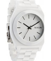 Buy Nixon Ladies White Ceramic Time Teller Watch online