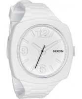 Buy Nixon The Dial White Rubber Watch online