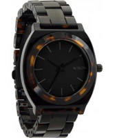 Buy Nixon Ladies Time Teller Acetate Dark Tortoise Watch online
