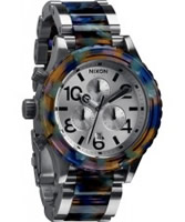 Buy Nixon The 42-20 Chrono Watercolour Acetate Watch online