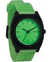Buy Nixon Time Teller P Glo Green Watch online