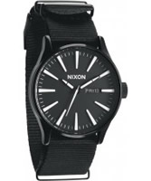 Buy Nixon The Sentry All Black Watch online