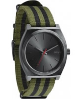 Buy Nixon The Time Teller Green Black Watch online