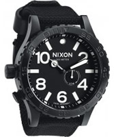 Buy Nixon The 51-30 Tide All Black Watch online