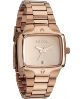 Buy Nixon Ladies The Small Player Rose Gold Watch online