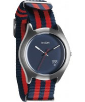 Buy Nixon The Quad Red Navy Watch online