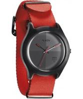 Buy Nixon The Quad Neon Orange Watch online