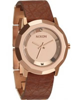 Buy Nixon Ladies Bobbi Rose Gold Saddle Watch online