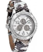 Buy Nixon The 42-20 Chrono White Snake Watch online