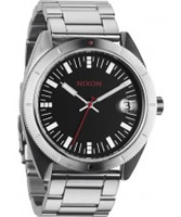 Buy Nixon Mens Rover SS Black and Red Watch online