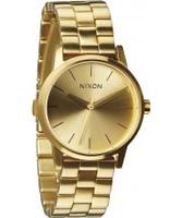 Buy Nixon Ladies Small Kensington All Gold Tone Watch online