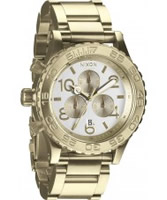 Buy Nixon The 42-20 Chrono Two Tone Watch online