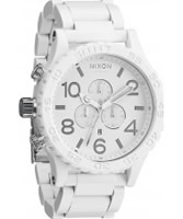Buy Nixon Mens The 51-30 Chrono All White Watch online