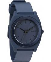 Buy Nixon Mens Time Teller P Steel Blue Ano Watch online