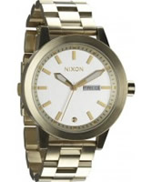 Buy Nixon Mens The Spur Gold Watch online