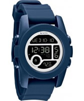 Buy Nixon Mens Unit 40 Navy Watch online
