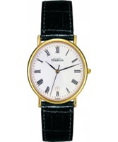 Buy Michel Herbelin Mens Gold Plated Classic Watch online