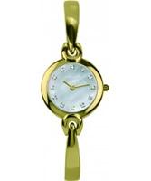 Buy Michel Herbelin Ladies Salambo Gold Watch online
