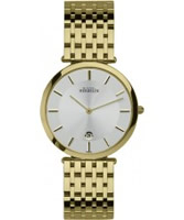 Buy Michel Herbelin Mens Classic Extra Flat Gold Plated Watch online