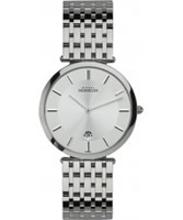 Buy Michel Herbelin Mens Epsilon Classic Silver Watch online
