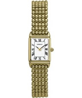 Buy Michel Herbelin Ladies Gold Plated Perles Watch online